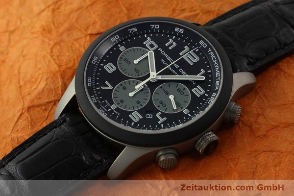 Used luxury watch Porsche Design Dashbord chronograph titanium automatic Kal. ETA 2894-2 Ref. 6612.15/2  | 150686 01