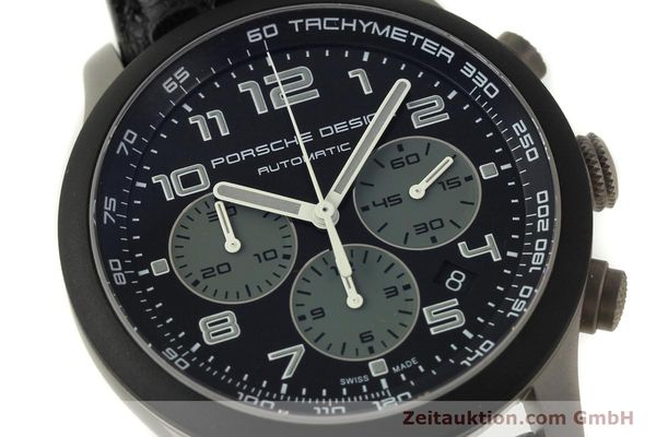 Used luxury watch Porsche Design Dashbord chronograph titanium automatic Kal. ETA 2894-2 Ref. 6612.15/2  | 150686 02