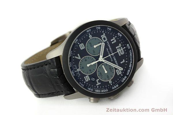 Used luxury watch Porsche Design Dashbord chronograph titanium automatic Kal. ETA 2894-2 Ref. 6612.15/2  | 150686 03