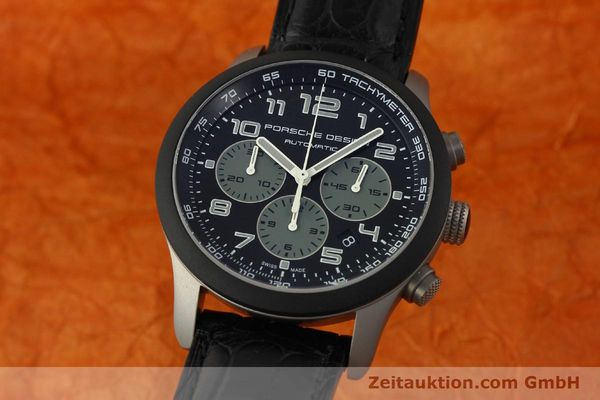 Used luxury watch Porsche Design Dashbord chronograph titanium automatic Kal. ETA 2894-2 Ref. 6612.15/2  | 150686 04