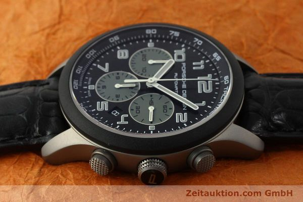 Used luxury watch Porsche Design Dashbord chronograph titanium automatic Kal. ETA 2894-2 Ref. 6612.15/2  | 150686 05