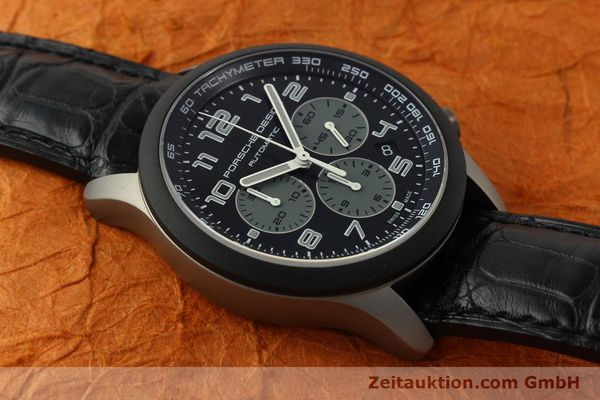 Used luxury watch Porsche Design Dashbord chronograph titanium automatic Kal. ETA 2894-2 Ref. 6612.15/2  | 150686 15