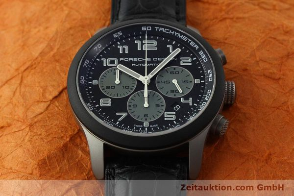 Used luxury watch Porsche Design Dashbord chronograph titanium automatic Kal. ETA 2894-2 Ref. 6612.15/2  | 150686 16