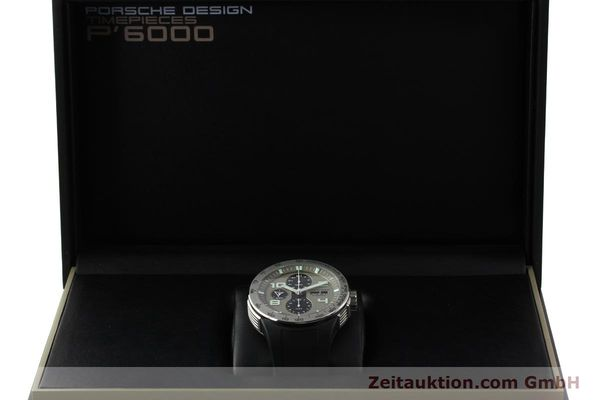 Used luxury watch Porsche Design Flat Six chronograph steel automatic Kal. ETA 7750 Ref. P6340  | 150688 07