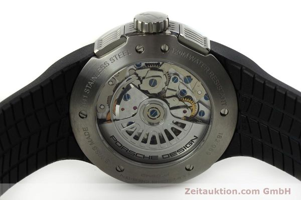 Used luxury watch Porsche Design Flat Six chronograph steel automatic Kal. ETA 7750 Ref. P6340  | 150688 09