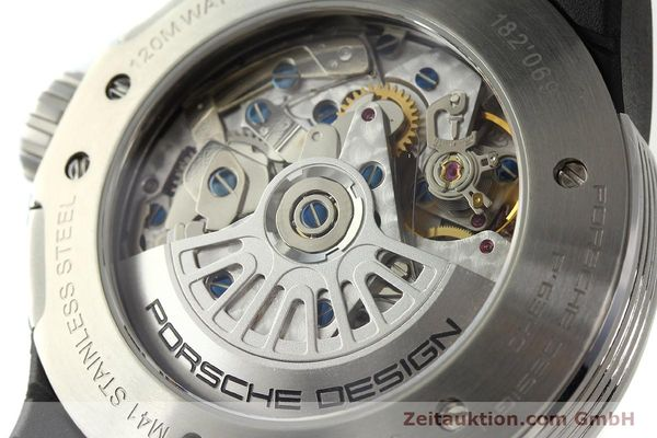 Used luxury watch Porsche Design Flat Six chronograph steel automatic Kal. ETA 7750 Ref. P6340  | 150688 10