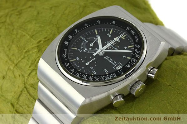 Used luxury watch Omega Speedmaster chronograph steel automatic Kal. 1041  | 150695 01