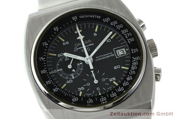 Used luxury watch Omega Speedmaster chronograph steel automatic Kal. 1041  | 150695 02