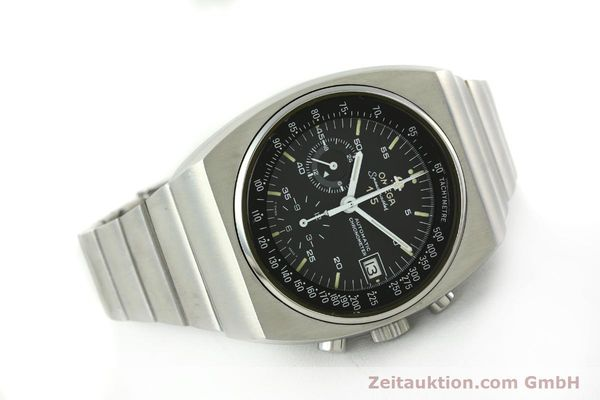 Used luxury watch Omega Speedmaster chronograph steel automatic Kal. 1041  | 150695 03