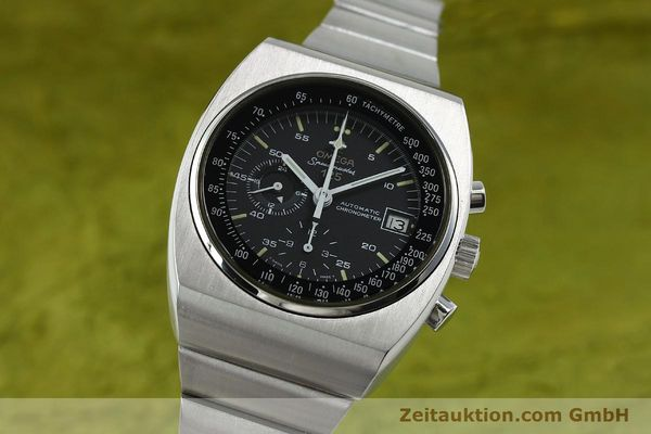 Used luxury watch Omega Speedmaster chronograph steel automatic Kal. 1041  | 150695 04