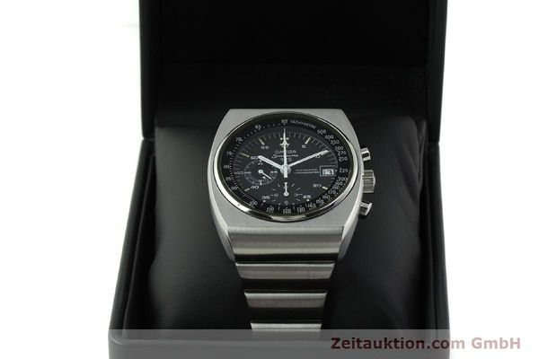 Used luxury watch Omega Speedmaster chronograph steel automatic Kal. 1041  | 150695 07