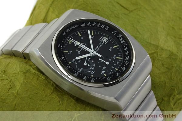Used luxury watch Omega Speedmaster chronograph steel automatic Kal. 1041  | 150695 14