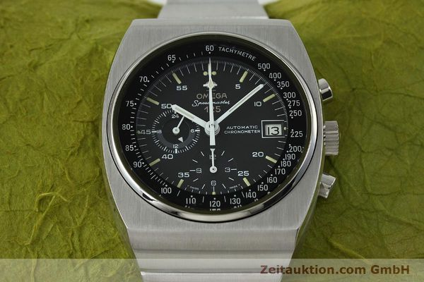 Used luxury watch Omega Speedmaster chronograph steel automatic Kal. 1041  | 150695 15