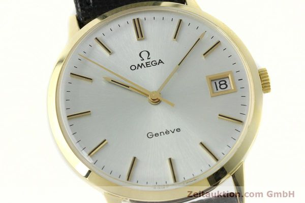 Used luxury watch Omega * 14 ct yellow gold manual winding Kal. 1030  | 150697 02