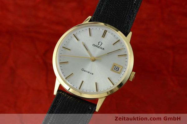 Used luxury watch Omega * 14 ct yellow gold manual winding Kal. 1030  | 150697 04
