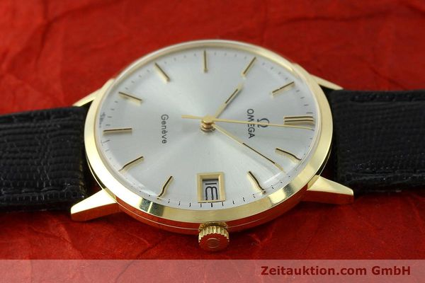 Used luxury watch Omega * 14 ct yellow gold manual winding Kal. 1030  | 150697 05