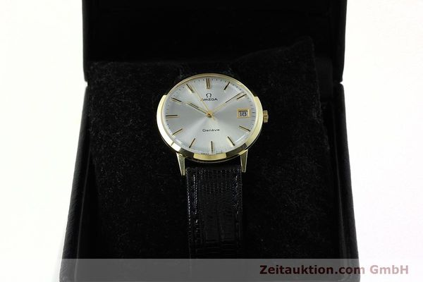 Used luxury watch Omega * 14 ct yellow gold manual winding Kal. 1030  | 150697 07