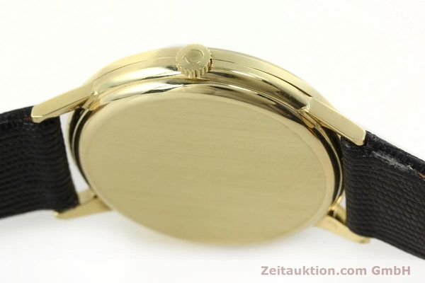 Used luxury watch Omega * 14 ct yellow gold manual winding Kal. 1030  | 150697 08