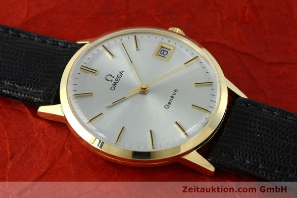 Used luxury watch Omega * 14 ct yellow gold manual winding Kal. 1030  | 150697 13