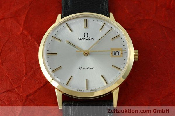 Used luxury watch Omega * 14 ct yellow gold manual winding Kal. 1030  | 150697 14