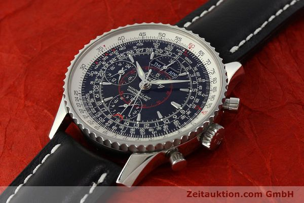 Used luxury watch Breitling Montbrillant chronograph steel automatic Kal. B21 Eta Ref. A21330  | 150698 01