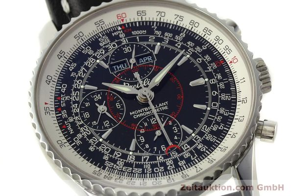 Used luxury watch Breitling Montbrillant chronograph steel automatic Kal. B21 Eta Ref. A21330  | 150698 02