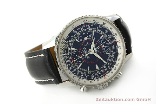 Used luxury watch Breitling Montbrillant chronograph steel automatic Kal. B21 Eta Ref. A21330  | 150698 03
