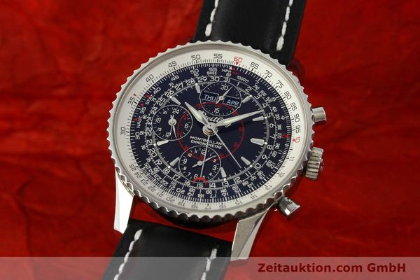 Used luxury watch Breitling Montbrillant chronograph steel automatic Kal. B21 Eta Ref. A21330  | 150698 04