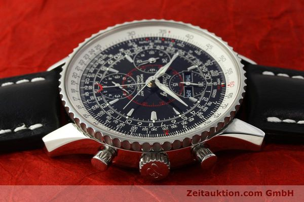 Used luxury watch Breitling Montbrillant chronograph steel automatic Kal. B21 Eta Ref. A21330  | 150698 05