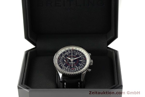 Used luxury watch Breitling Montbrillant chronograph steel automatic Kal. B21 Eta Ref. A21330  | 150698 07
