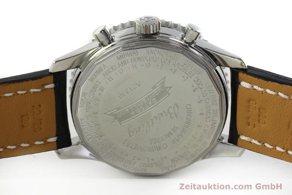 Used luxury watch Breitling Montbrillant chronograph steel automatic Kal. B21 Eta Ref. A21330  | 150698 09