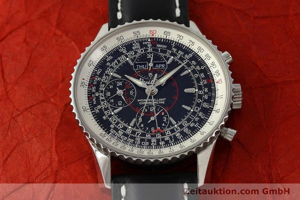 Used luxury watch Breitling Montbrillant chronograph steel automatic Kal. B21 Eta Ref. A21330  | 150698 17