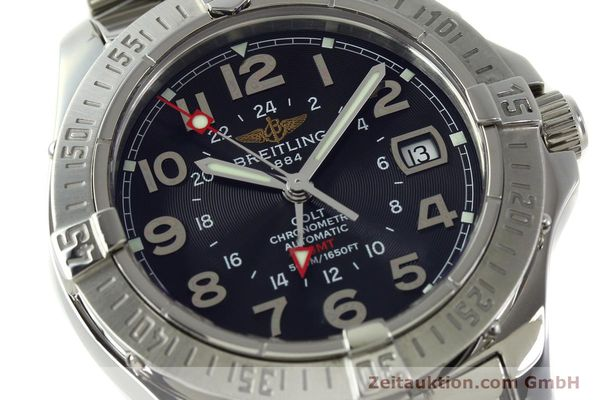 Used luxury watch Breitling Colt GMT steel automatic Kal. B32 ETA 2893-2 Ref. A32350  | 150701 02