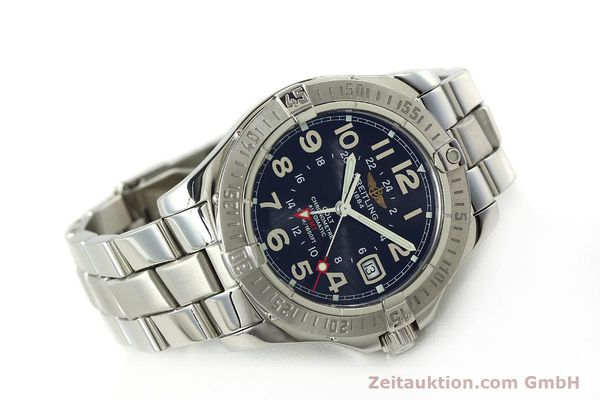 Used luxury watch Breitling Colt GMT steel automatic Kal. B32 ETA 2893-2 Ref. A32350  | 150701 03