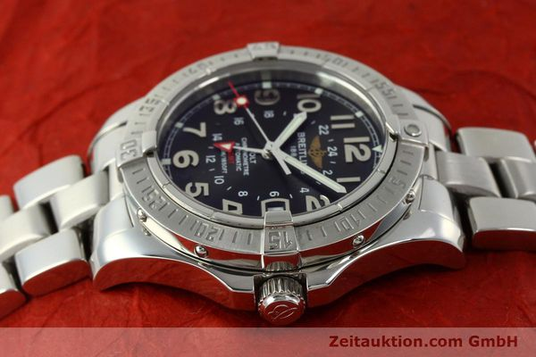 Used luxury watch Breitling Colt GMT steel automatic Kal. B32 ETA 2893-2 Ref. A32350  | 150701 05