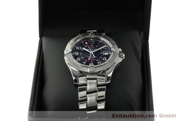 Used luxury watch Breitling Colt GMT steel automatic Kal. B32 ETA 2893-2 Ref. A32350  | 150701 07