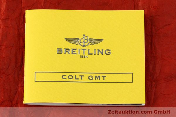 Used luxury watch Breitling Colt GMT steel automatic Kal. B32 ETA 2893-2 Ref. A32350  | 150701 13