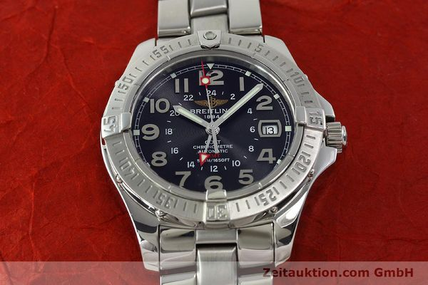 Used luxury watch Breitling Colt GMT steel automatic Kal. B32 ETA 2893-2 Ref. A32350  | 150701 17