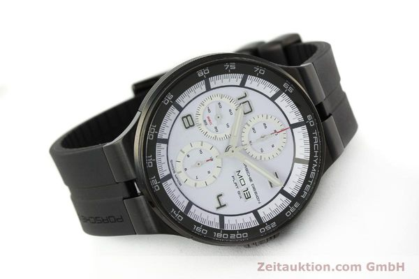 Used luxury watch Porsche Design Flat Six chronograph steel automatic Kal. ETA 7750 Ref. 6360.43  | 150702 03