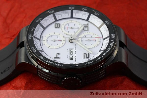 Used luxury watch Porsche Design Flat Six chronograph steel automatic Kal. ETA 7750 Ref. 6360.43  | 150702 05