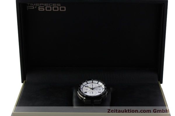 Used luxury watch Porsche Design Flat Six chronograph steel automatic Kal. ETA 7750 Ref. 6360.43  | 150702 07