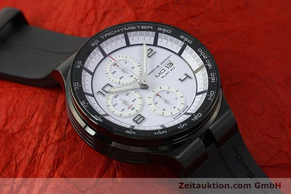 Used luxury watch Porsche Design Flat Six chronograph steel automatic Kal. ETA 7750 Ref. 6360.43  | 150702 16