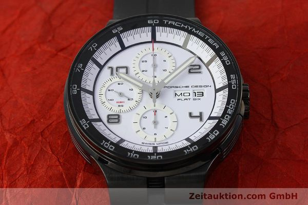 Used luxury watch Porsche Design Flat Six chronograph steel automatic Kal. ETA 7750 Ref. 6360.43  | 150702 17