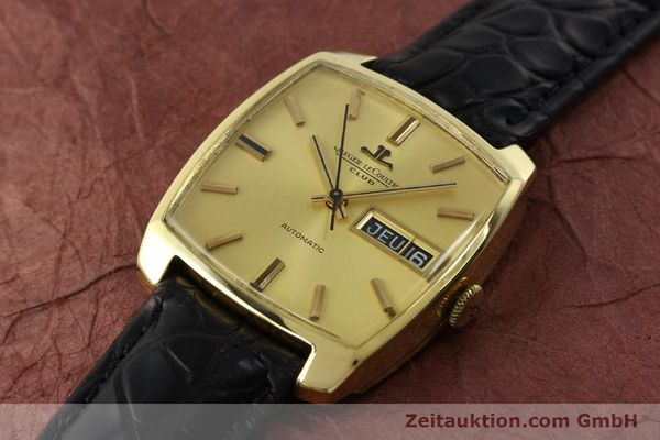Used luxury watch Jaeger Le Coultre Club 18 ct gold automatic Kal. AS 1906  | 150703 01