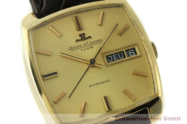 Used luxury watch Jaeger Le Coultre Club 18 ct gold automatic Kal. AS 1906  | 150703 02
