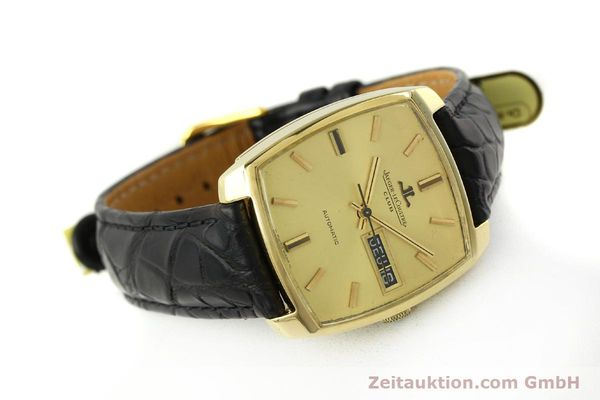Used luxury watch Jaeger Le Coultre Club 18 ct gold automatic Kal. AS 1906  | 150703 03