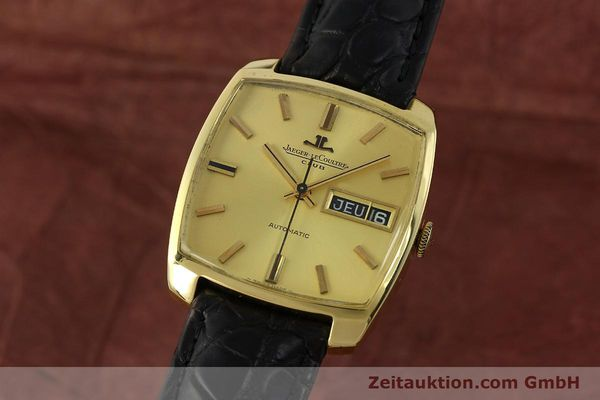 Used luxury watch Jaeger Le Coultre Club 18 ct gold automatic Kal. AS 1906  | 150703 04