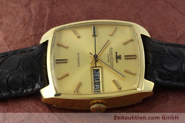 Used luxury watch Jaeger Le Coultre Club 18 ct gold automatic Kal. AS 1906  | 150703 05