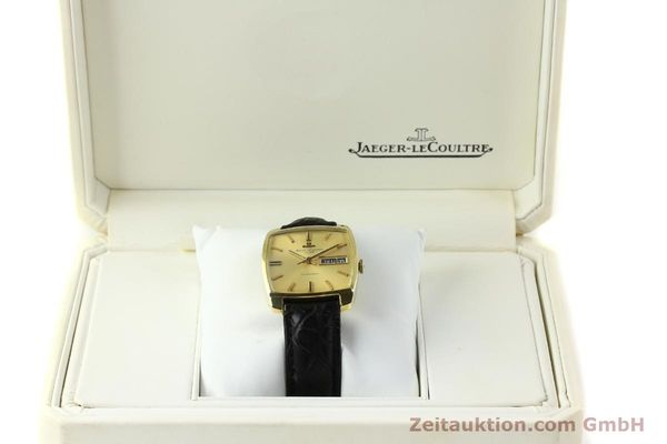 Used luxury watch Jaeger Le Coultre Club 18 ct gold automatic Kal. AS 1906  | 150703 07