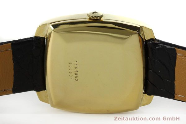 Used luxury watch Jaeger Le Coultre Club 18 ct gold automatic Kal. AS 1906  | 150703 08
